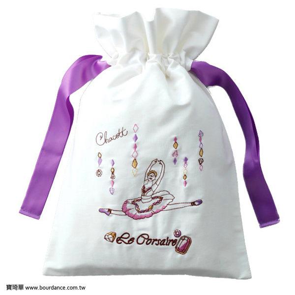 *╮寶琦華Bourdance╭*日本CHACOTT進口商品☆海盜刺繡束口袋【CH2016072711】