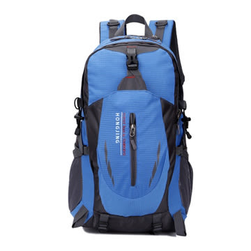 【FREE KNIGHT】HONGJING 40L 雨翼戶外休閒後背包/登山包(藍) FK8607BU