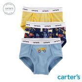 Carter's 台灣總代理  工程汽車3件組三角褲