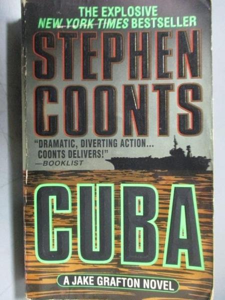 【書寶二手書T5/原文小說_OAG】CUBA_Stephen Coonts