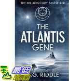[104美國直購] 美國暢銷書排行榜 The Atlantis Gene: A Thriller (The Origin Mystery, Book 1) Paperback