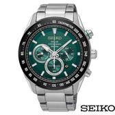 SEIKO 精工 SSC583P1 (V175-0EE0G) 太陽能 三眼計時 男錶/43mm