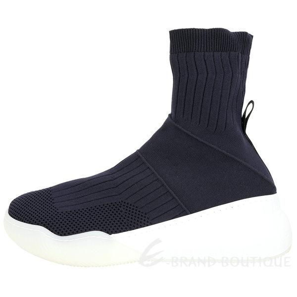 Stella McCartney Loop 彈性針織面料襪套運動鞋(女款/深藍色) 1920002-34