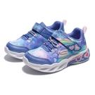 SKECHERS 童鞋 休閒鞋 SWEETHEART LIGHTS 藍紫 發光 燈鞋 小童(布魯克林) 302663NBLPK