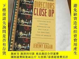 二手書博民逛書店Directors罕見Close Up, 2nd Edition