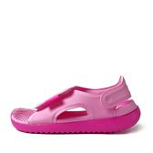 Nike Sunray Adjust 5 GS/PS [AJ9076-601] 女童鞋 運動 休閒 涼鞋 拖鞋 粉紅
