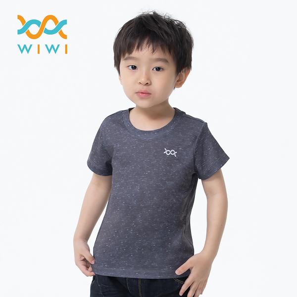【WIWI】素面防曬排汗涼感衣(麻花黑 童100-150)