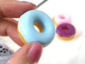 【DG257】新款二代 仿真麵包圈集線器 甜甜圈耳機捲線器mp3集線器 繞線器收線器★EZGO商城★