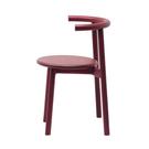 義大利 Mattiazzi MC5 Solo Wooden Chair 索羅 環背木質 單椅(紅色梣木)