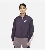 NIKE系列-NSW HERITAGE JKT WVN 女款紫色拼接風衣運動外套-NO.CZ8607573