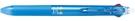 《享亮商城》LKFB-40UF-LB 亮藍桿(黑+紅) 0.38二色按鍵摩擦筆 PILOT