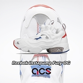 Reebok 休閒鞋 Instapump Fury OG 白 紅 女鞋 運動鞋 【ACS】 EF3143