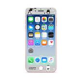 秋奇啊喀3C配件---GARMMA LAIMO馬來貘iPhone 7/8 Plus 5.5吋 -3D曲面珠光鋼化玻璃膜