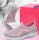 休閒鞋 老北京布鞋女時尚款媽媽鞋運動休閒鞋女軟底健步鞋一腳蹬女鞋單鞋「草莓妞妞」