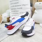 PUMA WILD RIDER ROLLIN 休閒鞋 男女款 情侶鞋 38151704 白藍紅【iSport愛運動】