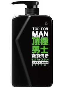 脫普TOP FOR MAN頂極男士極爽清新沐浴露  750g