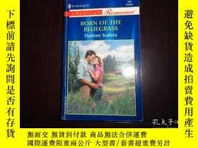 二手書博民逛書店BORN罕見OF THE BLUEGRASS,Dariene s