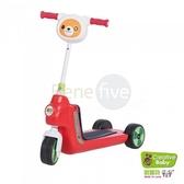 Creative Baby 創寶貝 國民版多功能滑板車/嚕嚕車 紅色(First Slider)