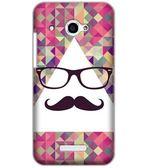 ♥ 俏魔女美人館 ♥  HTC Butterfly / X920D 蝴蝶 {眼鏡鬍子*水晶硬殼} 手機殼 手機套 保護殼 保護套