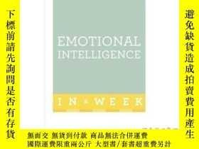 二手書博民逛書店Emotional罕見Intelligence in a Week: Teach Yo...-一周情商:教你。。。