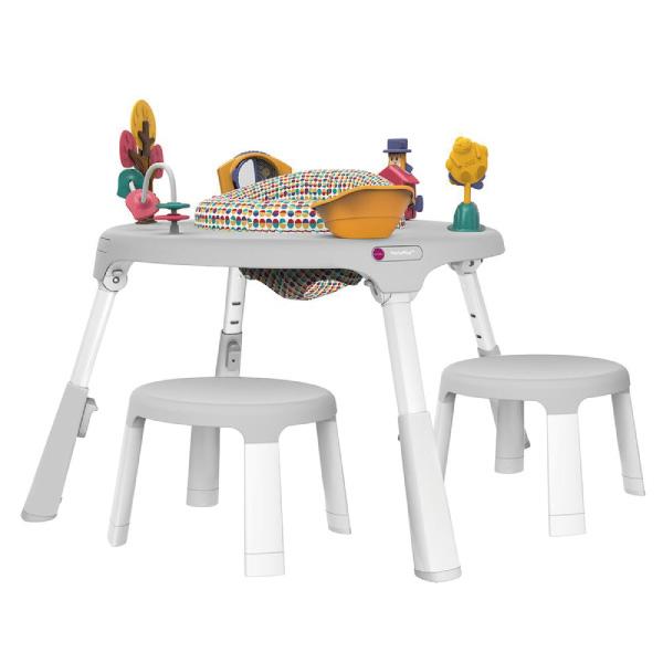 新加坡ORIBEL 成長型遊戲中心/遊戲桌(含椅凳x2) 白色
