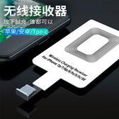 無線充電器蘋果小米vivo華為type-c安卓oppo通用貼片全自動接收器