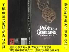 二手書博民逛書店英文書罕見pirates of the caribbean 5 :Dead man tell no tales 加