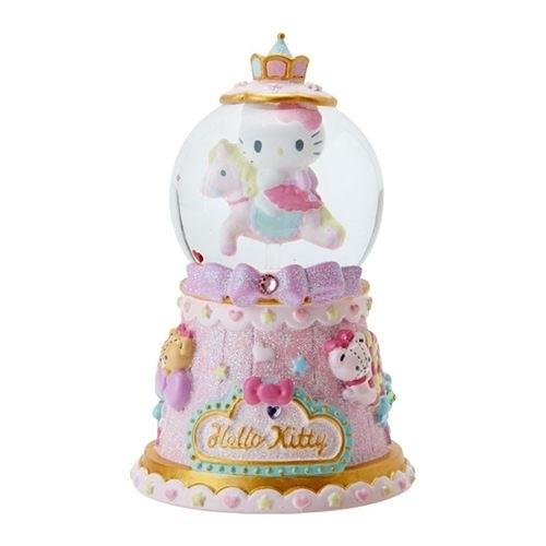 【震撼精品百貨】Hello Kitty 凱蒂貓~Sanrio HELLO KITTY浪漫雪球S(旋轉木馬)#69672