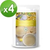 【樸優樂活】100%黃金亞麻仁籽粉(400g/包)X4件組