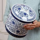 陶瓷茶葉罐大號綠茶儲茶罐普洱醒茶儲物罐密封 萬客居