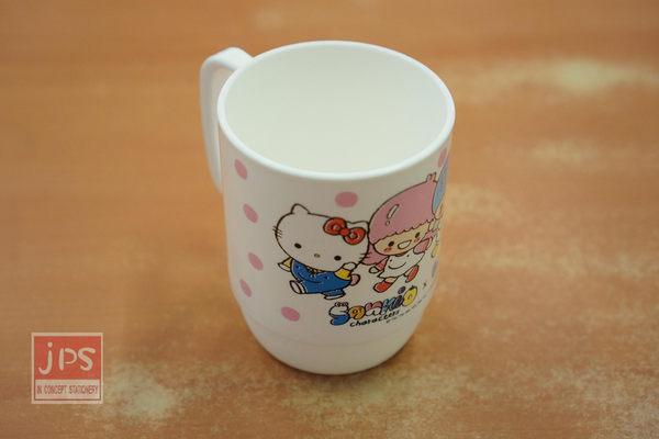 SANRIO Hello Kitty 雙子星 美樂蒂 350cc PP材質 水杯 塗鴉風 Wei Wei