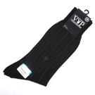 PLAYBOY直紋透氣涼感紳士襪(黑色)980122-2