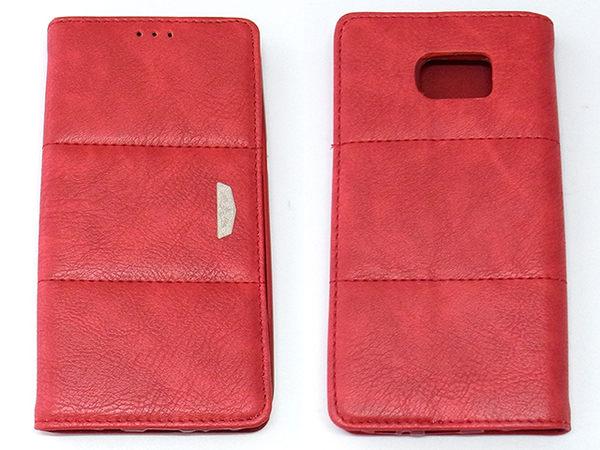 Samsung Galaxy S7 edge 軟殼磁吸上蓋側翻式手機套典雅系列 2色可選