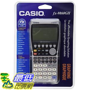 [美國直購] Casio fx-9860GII 工程圖形計算機 Graphing Calculator, Black