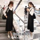 孕婦裝 MIMI別走【P52193】穿上好心情  俏麗百搭設計造型背帶裙  吊帶裙 孕婦洋裝