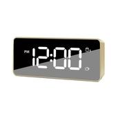 充電鬧鐘時鐘錶音樂鬧鈴兒童男女學生用創意靜音床頭電子智能夜光