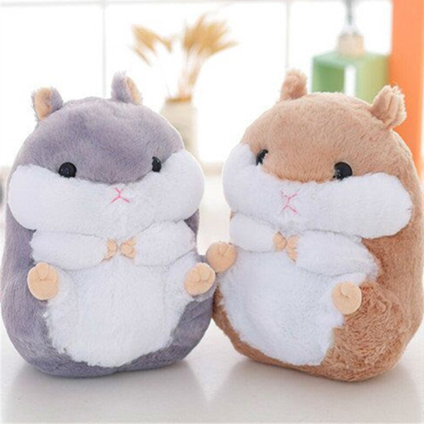 【BlueCat】萌萌可愛倉鼠毛毯 玩偶 懶人毯 抱枕 (大號二合一)