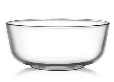 加厚玻璃茶洗1200ml沙拉碗 杯洗大號功夫玻璃茶具