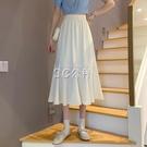 魚尾裙 春季新款韓版高腰顯瘦中長款魚尾A字裙子爆款氣質半身裙女