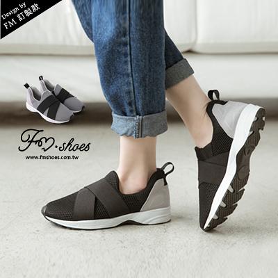 慢跑休閒鞋.首爾時尚透氣網布繃帶休閒球鞋-FM時尚美鞋-訂製款.Fresh