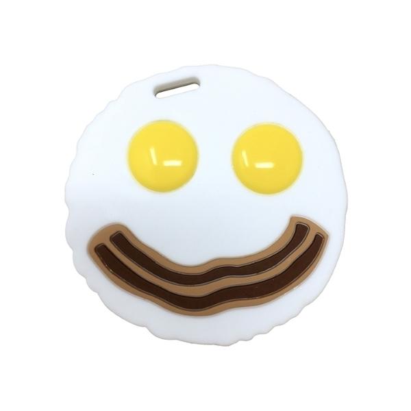 【愛吾兒】美國 SiLLi CHeWS  蛋&培根咬牙器  固齒器 美國設計 3個月以上適用