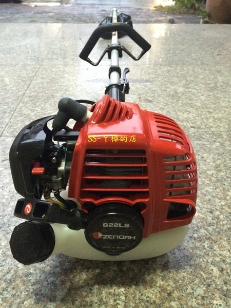 日製ZENOAH小松全能 BC2200/G22LS 肩掛式硬管割草機(世界最輕的引擎割草機)大全配