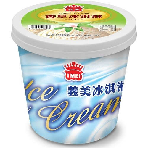 《免運冷凍宅配》義美桶裝冰淇淋-香草500g*12桶