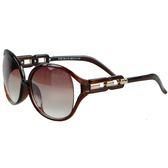 【福利品】鎖鏈意象女款太陽眼鏡/墨鏡(8119-S41-15)