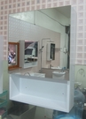 鏡櫃 鏡箱 單門 浴室 衛浴 寬45*高62*深13cm 好收納 浴室美觀不雜亂 緩降門片 304不鏽鋼絞鍊