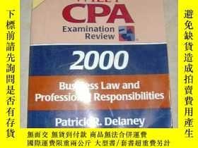 二手書博民逛書店英文原版《Wiley罕見CPA examination revi