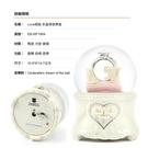 讚爾藝術 JARLL~Love戒指 水晶球音樂盒(WF1804) 愛情婚禮 現代婚禮 (現貨+預購)