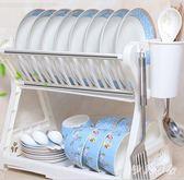 廚房置物架 層碗碟架廚房置物架廚房用品用具瀝水碗架碗柜碗筷盒收納架 ys4607『伊人雅舍』