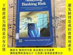 二手書博民逛書店Analyzing罕見Banking Risk: A Frame