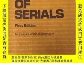 二手書博民逛書店sources罕見of serials 德國照片圖冊 第一版Y2